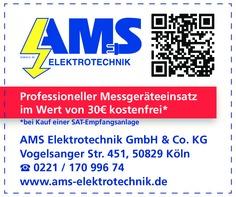 Gutschein AMS Elektrotechnik GmbH & Co. KG