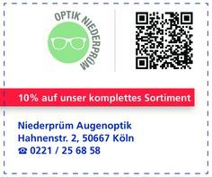 Gutschein Niederprüm Augenoptik - Inh. Alexander Schug