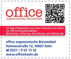 Gutschein office Ergonomische Büromöbel