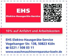 Gutschein EHS Elektrohausgeräte-Service