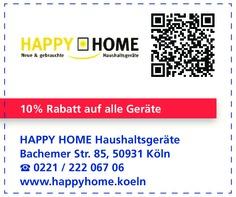 Gutschein HAPPY HOME Haushaltsgeräte